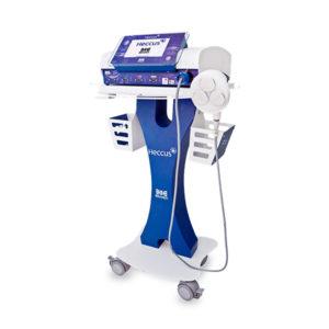 Heccus Turbo es el equipo de terapia combinada más potente del mercado. La innovadora plataforma cuenta con ultrasonido de 1 y 3 Mhz
