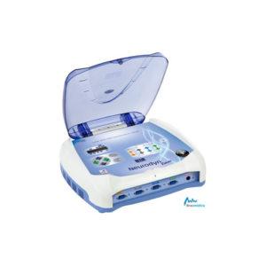 Neurodyn Evolution es un dispositivo de marca Ibramed que sirve para el tratamiento de enfermedades del suelo pélvico. Tiene la biorretroalimentación y la estimulación eléctrica a través de la corriente FES. Puede ser operado o no está conectado a un ordenador.