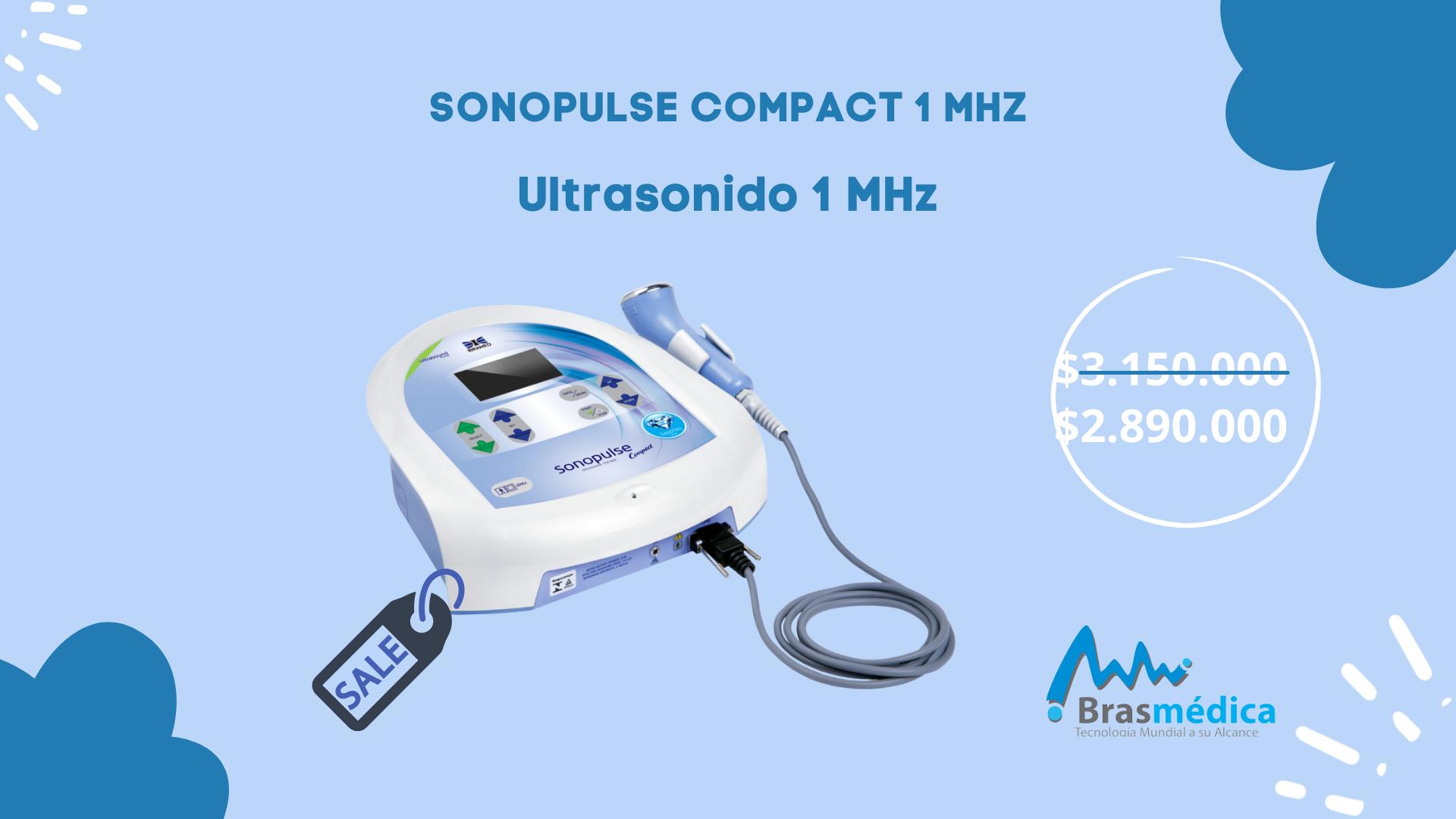 Sonopulse compact  Ultrasonido 1MGHZ